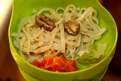 happy meal   fettucine with morel cream sauce    MG …