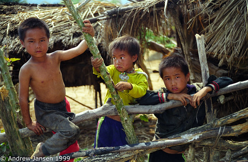 boys fence village 1999 mean laos hmong overland