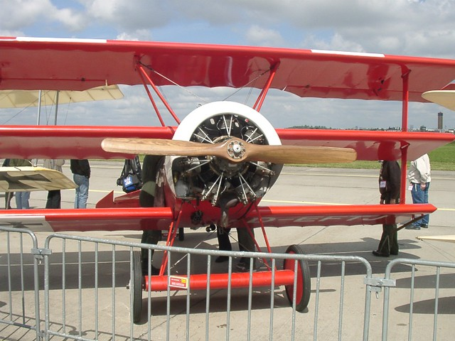 Fokker Dr.I: Vorderansicht
