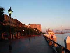 River Street at Sunrise