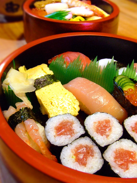 Nigiri and Chirashi