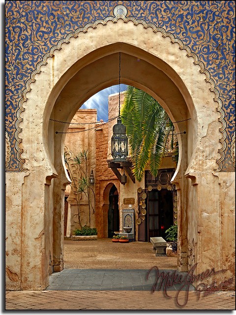 Morocco the countries of epcot this one was a great big for Poster porte orientale
