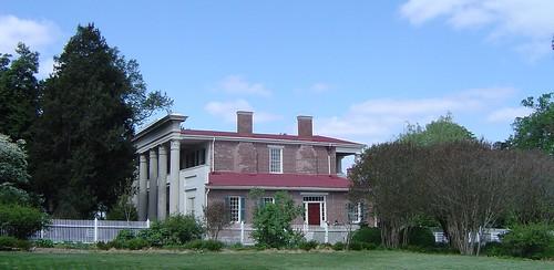 architecture tn tennessee plantation hermitage