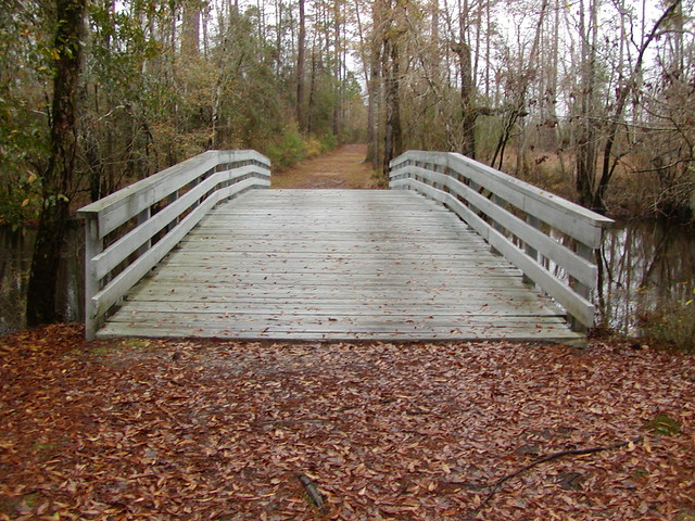 Replica - Bridge at Moores Creek