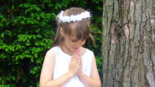 Praying Izzy