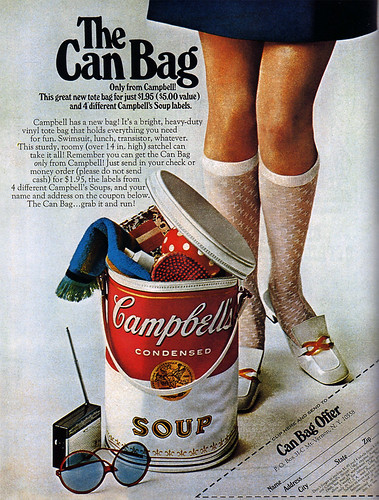 1960s Advertising - Magazine Ad - Campbell's Soup (USA)