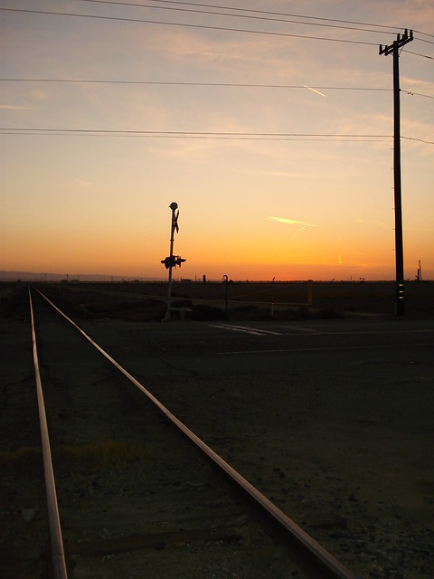 California Sunsett Railroad tracks