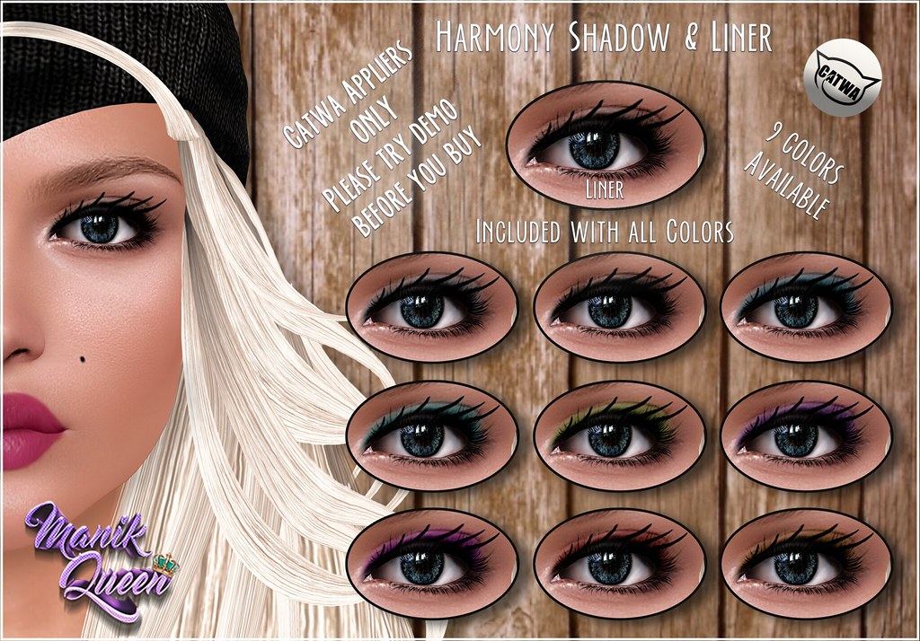 MANIK QUEEN Harmony Shadows & Liner - SecondLifeHub.com