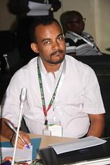Birhanu Zemadim, ICRISAT-Mali (Photo credit: Africa RISING).