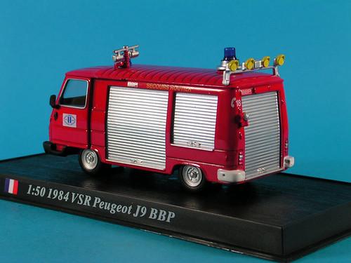 VSR PEUGEOT J9 BBP - 1984 - 1/50e