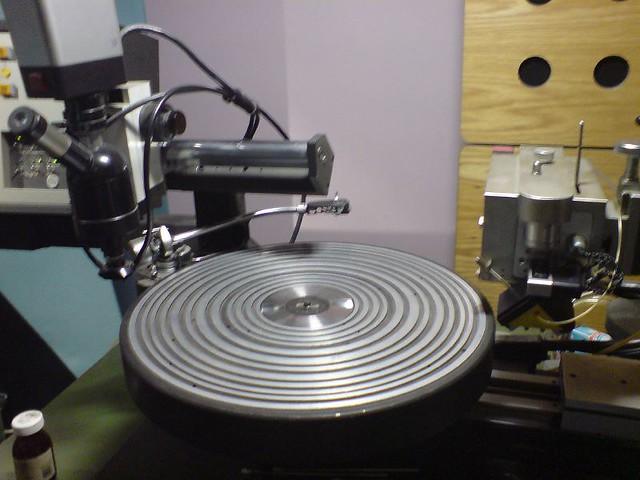 vinyl making machine