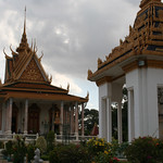 Silver pagoda at the Phnom Penh Royal Palace