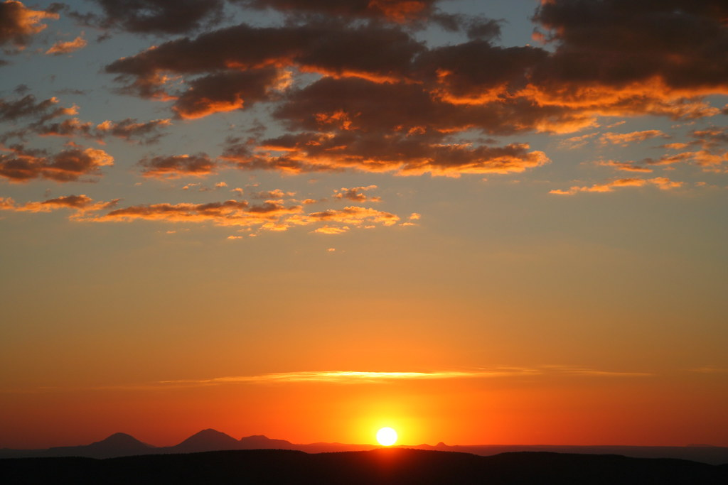 Carlsbad New Mexico - guadalupe mountains eddy co nm sunset from the rim 2