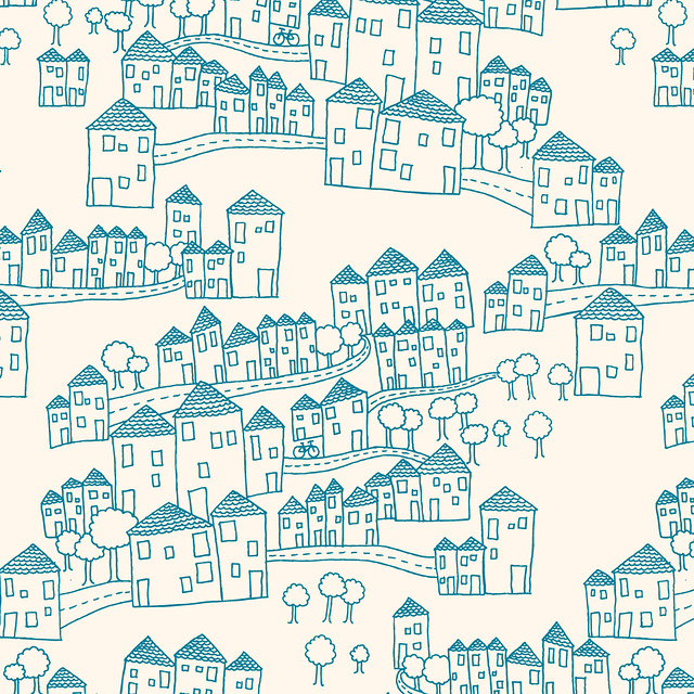 Houses Pattern Flickr Photo Sharing