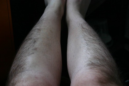 Surgically Shaved Legs