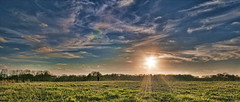 Sunset - Moundville
