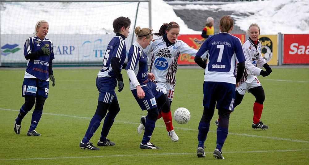 KMF - Åland United, Jenna Vaara at the area