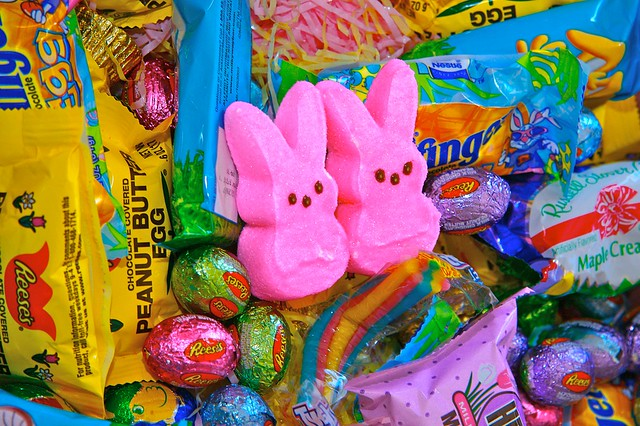peeps easter candy desktop wallpaper-#13