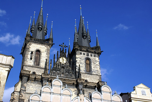 Church of Our Lady Before Tyn - Prague, Czech Republic by Craig Grobler