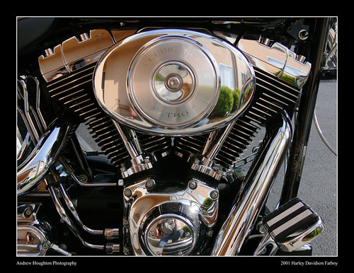 Harley Davidson 2001 Fatboy Engine