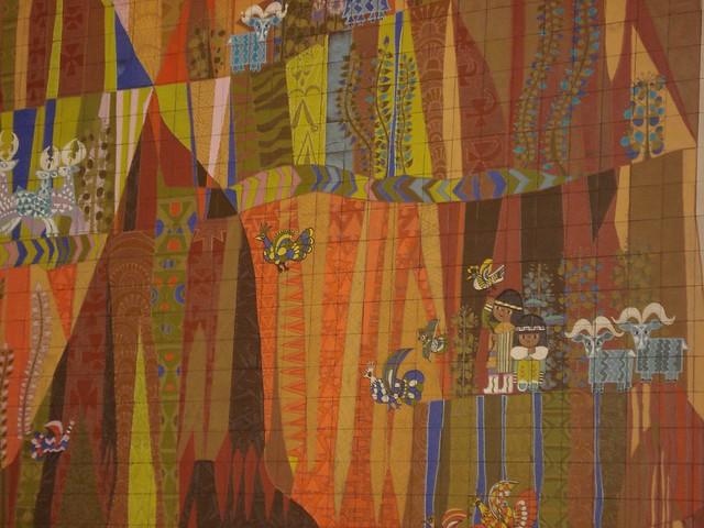 Mary blair mural contemporary resort flickr photo sharing for Contemporary resort mural