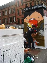 art(1.0), wall(1.0), street art(1.0), road(1.0), mural(1.0), graffiti(1.0), street artist(1.0), street(1.0),