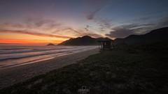 Sunset @Grumari Beach, Rio de Janeiro, Brazil