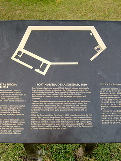 Image of Fort Soledad. guam umatac fortsoledad