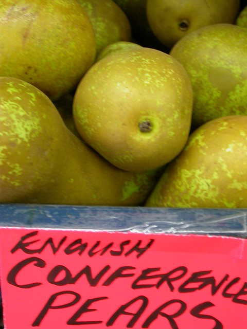 Conference pears, by Nick Saltmarsh
