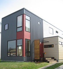 Would you ever swipe your credit card to purchase a home trend in urban modern prefab homes - Hive modular x line container home in canada ...