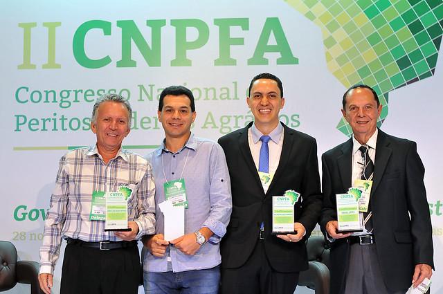 II CNPFA - Homenagens aos ex-presidentes