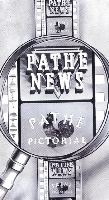 Pathe News Trade advert 1955