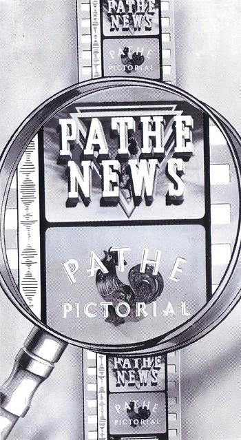 Pathe News Trade advert 1955