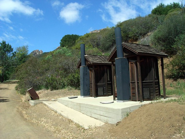 Rustic Outhouses