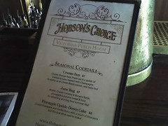 Hobson's Choice Victorian punch