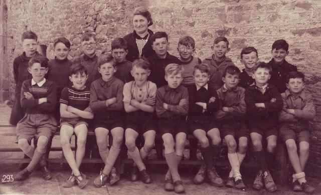 Roscoff - Photos de classes - Ecole Publique 1948 / 1949