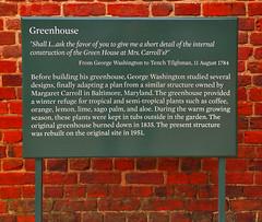 'Greenhouse' -- Mount Vernon (VA) November 2016