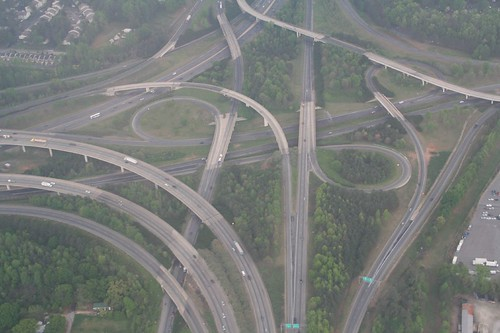 I-285 and I-85, South Junction