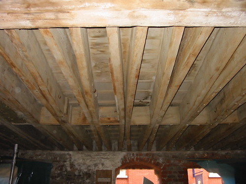 The Granary, floor joists