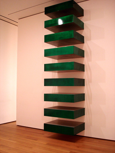 2011 for Donald judd stack 1972