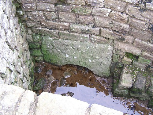 The Housesteads sewer outfall
