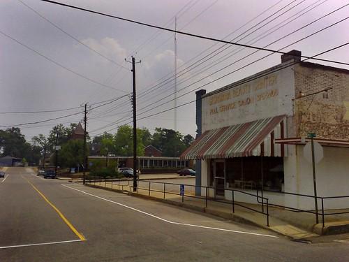 Georgiana w Alabamie, tam dorastał Hank Williams
