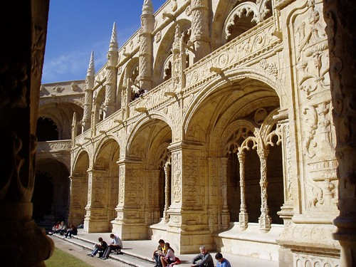 Cloister at Jeronimos