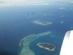 archipelago, atoll, sea, ocean, island, aerial photography, coast, islet,
