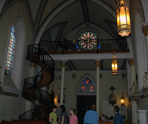 Loretto Chapel interior