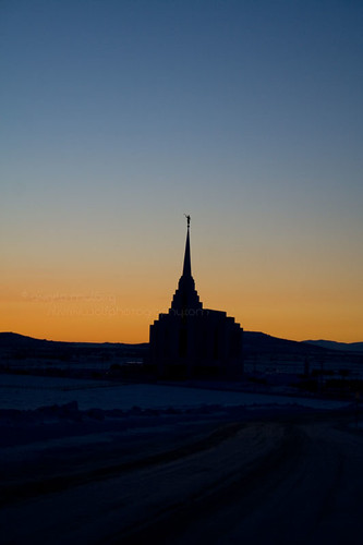 sunset temple