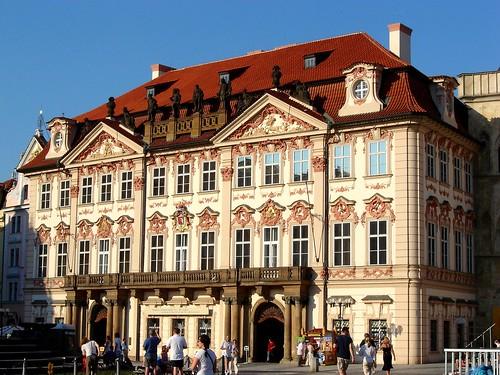 Palác Kinských - Golz-Kinských (Kinsky Palace 1755-56)