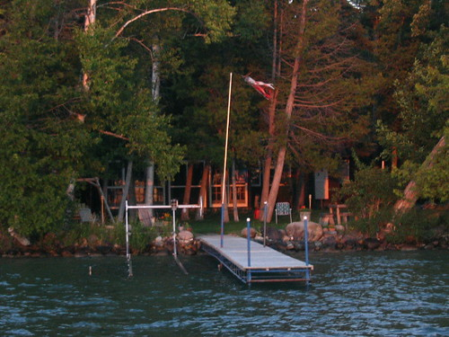 july 2005 presqueisle michigan dock grandlake judyshouse