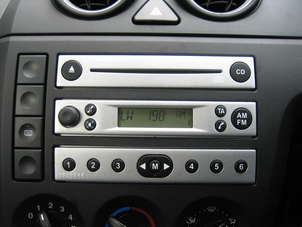 car radio code: