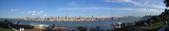 panoramic - view of NYC from NJ